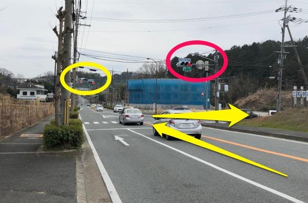 奈良坂町北(北側から)